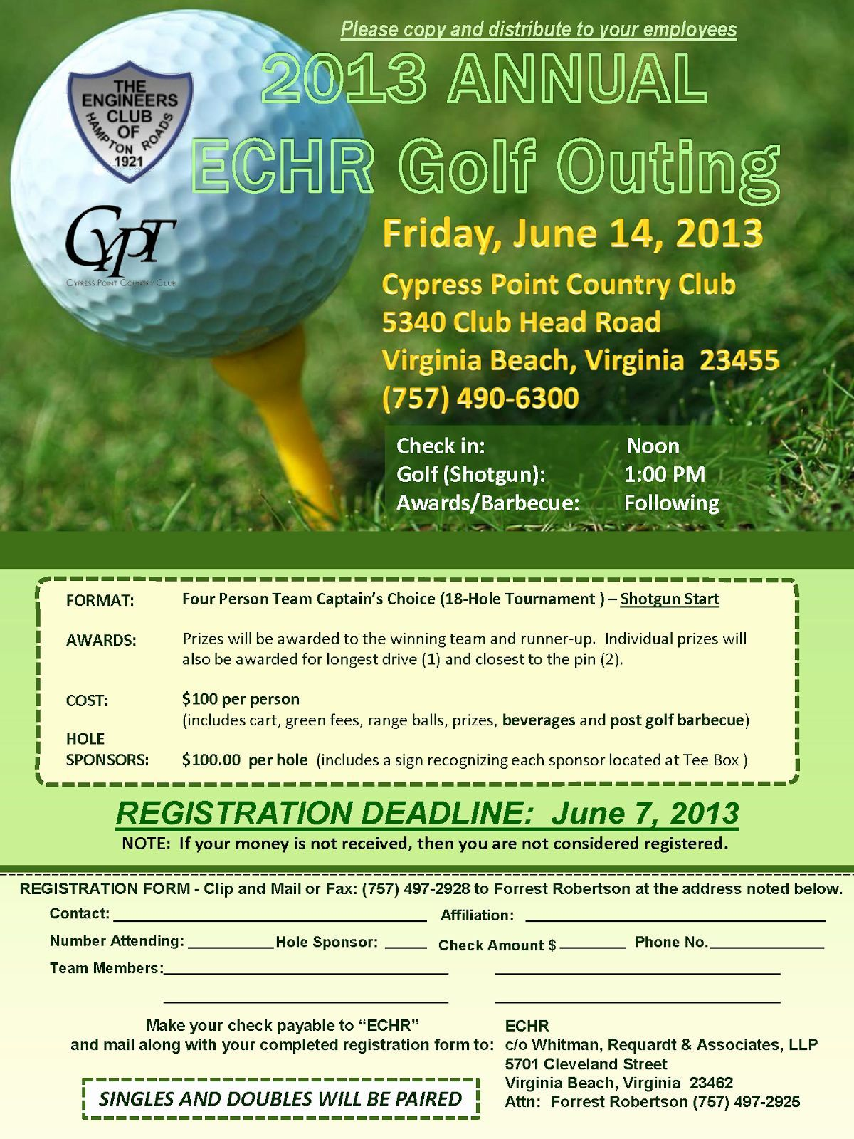 000 Sensational Free Charity Golf Tournament Flyer Template Example Full