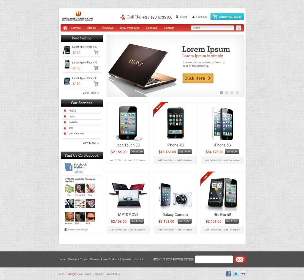 000 Sensational Free E Commerce Website Template High Resolution  Ecommerce Html Cs Bootstrap PhpLarge