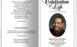 000 Sensational Free Funeral Program Template High Def  Word Catholic Editable Pdf