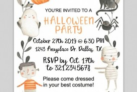 000 Sensational Free Halloween Invitation Template Printable Design  Birthday Party