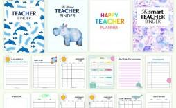 000 Sensational Free Printable Teacher Binder Template High Def  Templates