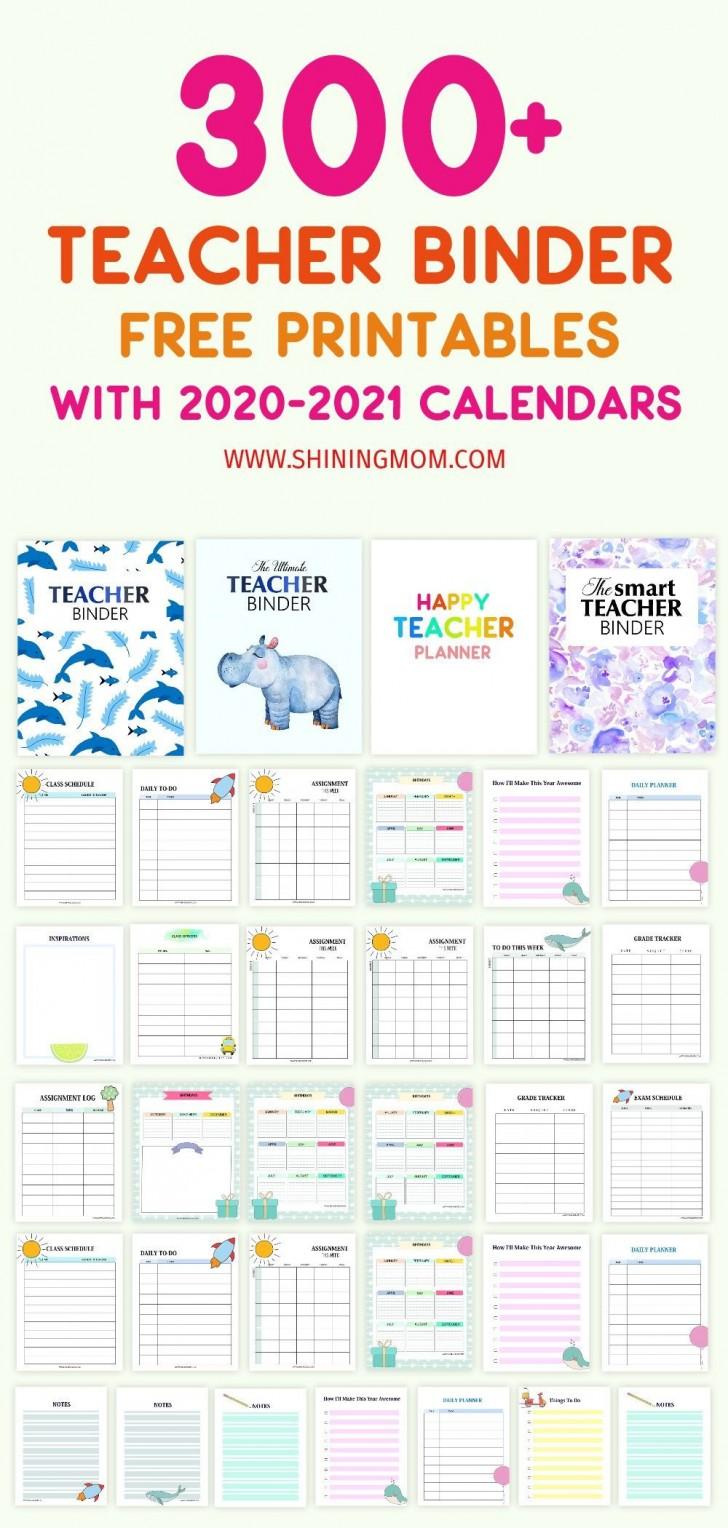000 Sensational Free Printable Teacher Binder Template High Def 728