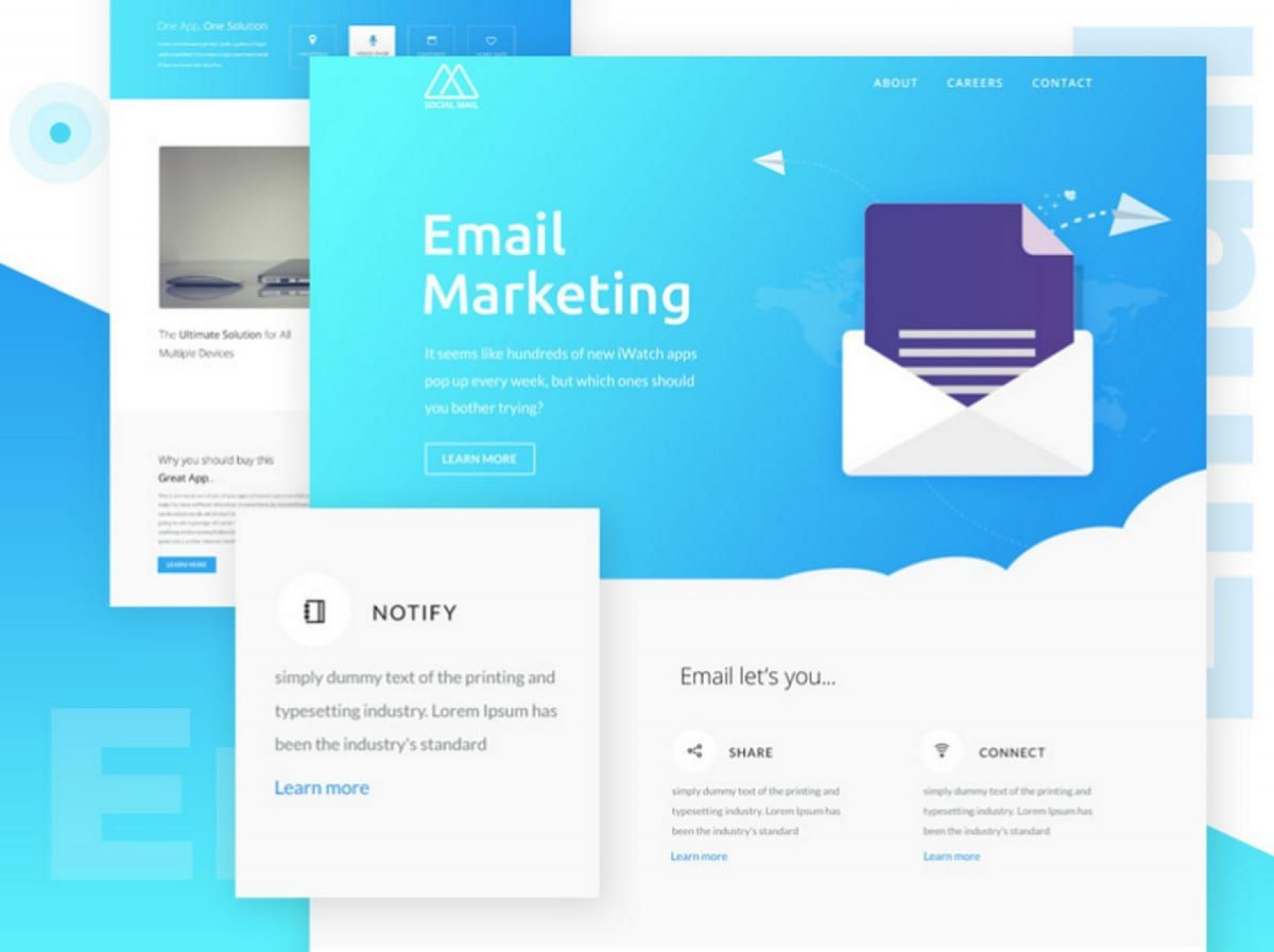 000 Sensational Free Responsive Html Email Template Download Inspiration  Simple App-responsive-notification-email-html-template1920