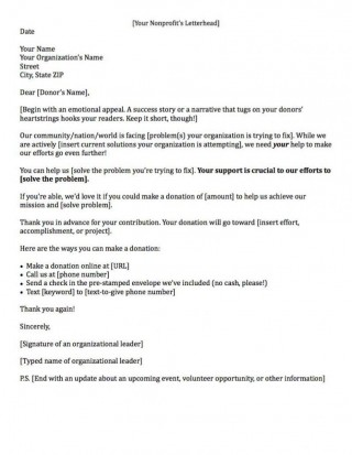 000 Sensational Fund Raising Letter Template Example  Fundraising For Mission Trip School Sample Of A Nonprofit Organization320