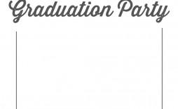000 Sensational Graduation Party Invitation Template Example  Microsoft Word 4 Per Page
