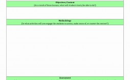 000 Sensational How To Make A Lesson Plan Template In Google Doc High Definition  Docs