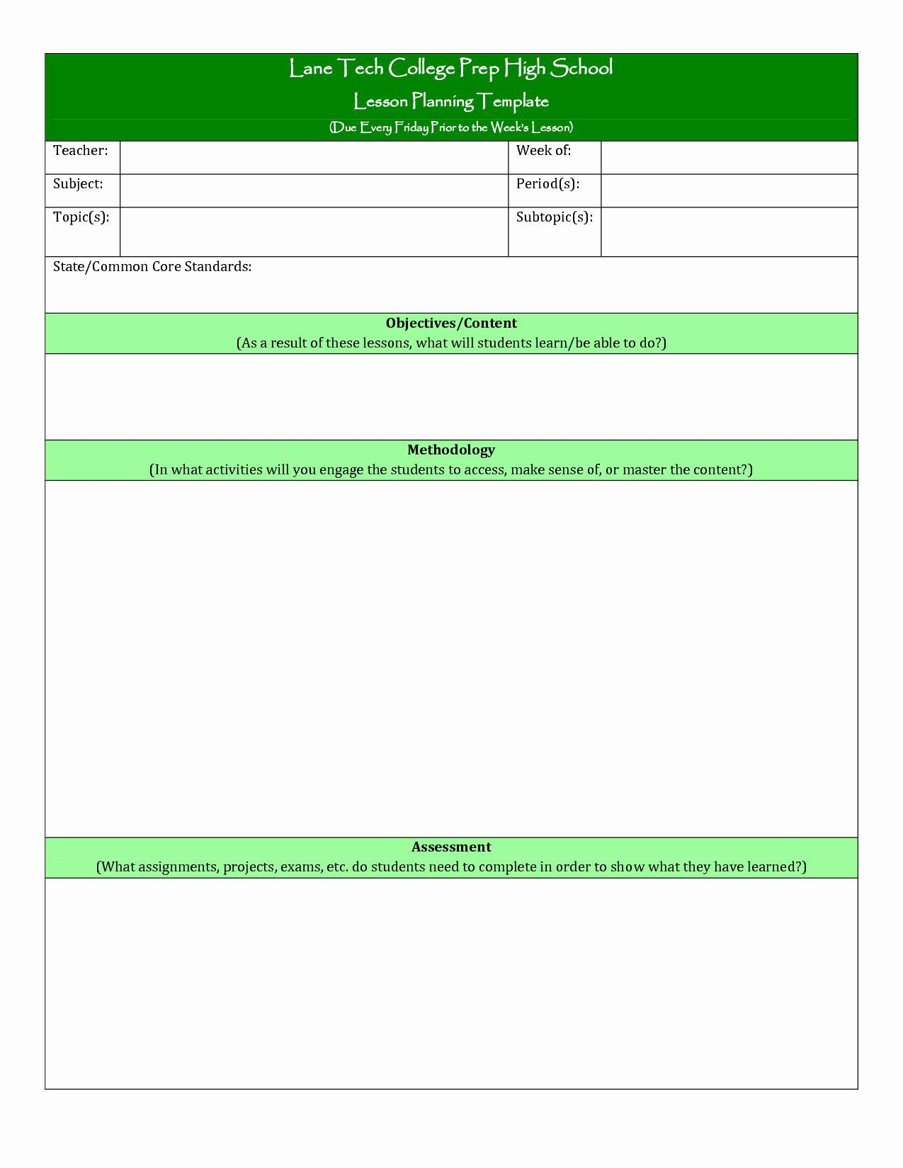 000 Sensational How To Make A Lesson Plan Template In Google Doc High Definition  DocsFull
