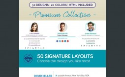 000 Sensational Html Email Signature Template Picture  Logo Thunderbird Generator