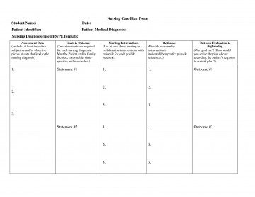 000 Sensational Nursing Care Plan Template High Resolution  Free Pdf Download360