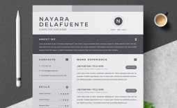000 Sensational One Page Resume Template Highest Quality  Templates Microsoft Word Free