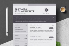 000 Sensational One Page Resume Template Highest Quality  Word Free For Fresher Ppt Download Html