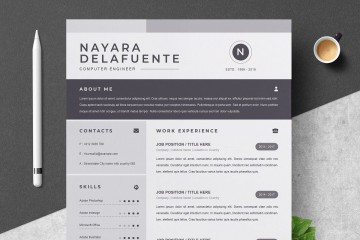000 Sensational One Page Resume Template Highest Quality  Word Free For Fresher Ppt Download Html360