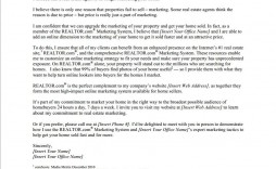 000 Sensational Real Estate Marketing Letter Example Photo  Examples Agent Sample