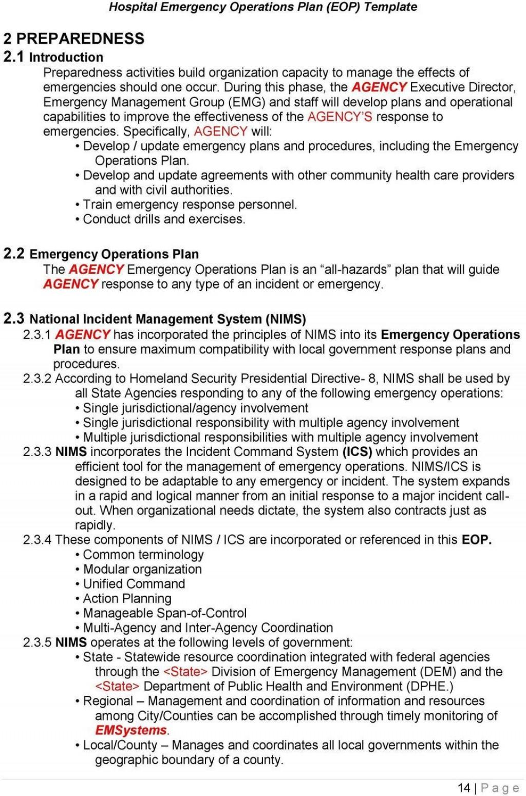 000 Sensational School Emergency Operation Plan Template Michigan High Resolution Large