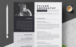 000 Sensational Single Page Resume Template Inspiration  One Word For Experienced Fresher