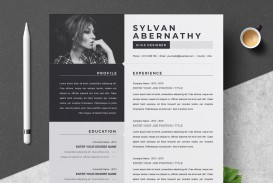 000 Sensational Single Page Resume Template Inspiration  Cascade One Free Download Word For Fresher