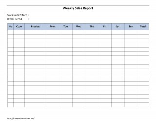 000 Sensational Weekly Sale Report Template Highest Quality  Free Download Call Example Xl320