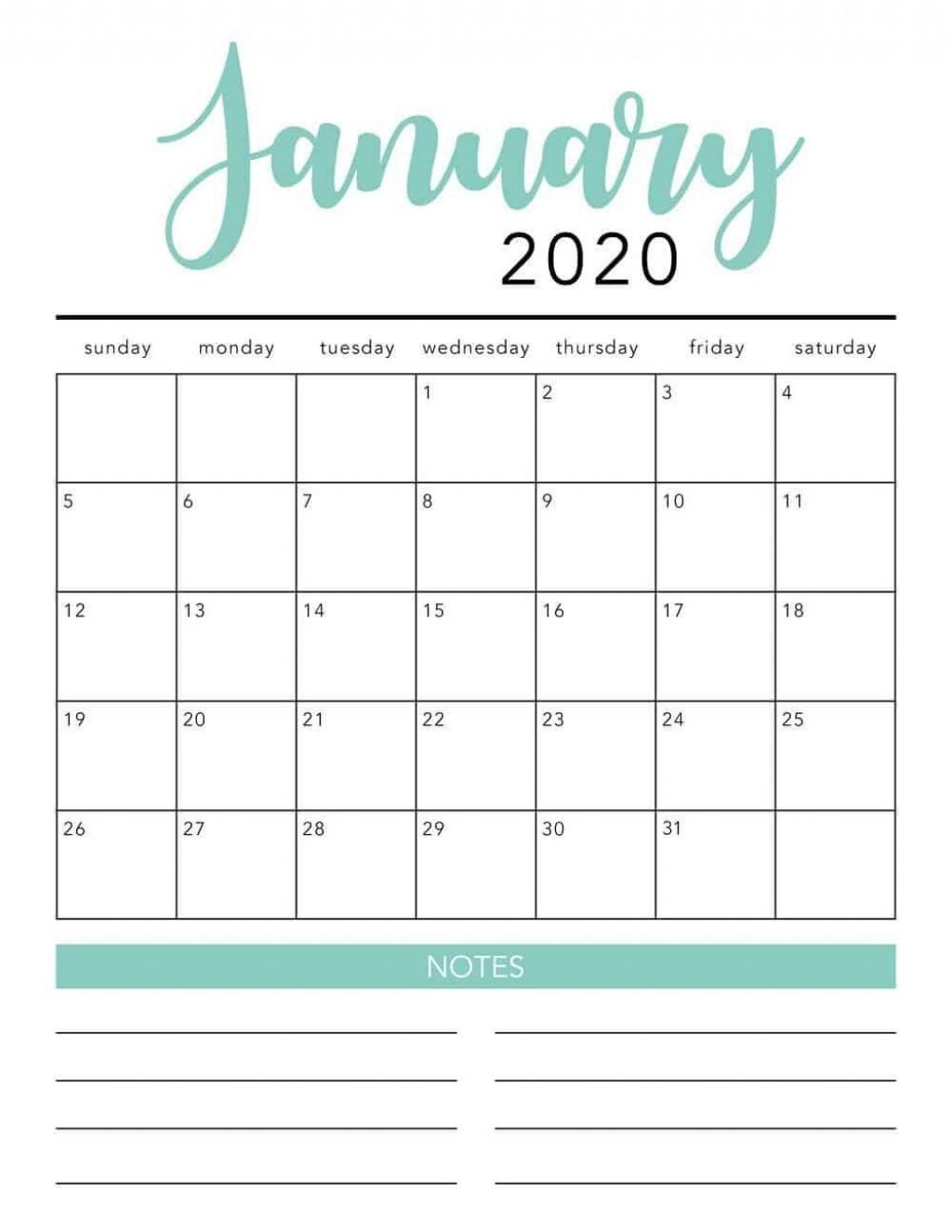 000 Shocking 2020 Monthly Calendar Template Photo  Templates Word Australian FreeLarge