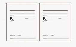 000 Shocking Fake Prescription Bottle Label Template Sample