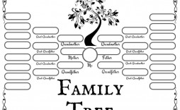 000 Shocking Family Tree Template Word Free Download Idea