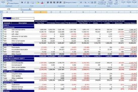 000 Shocking Financial Statement Template Excel Inspiration  Personal Example Interim Free Download