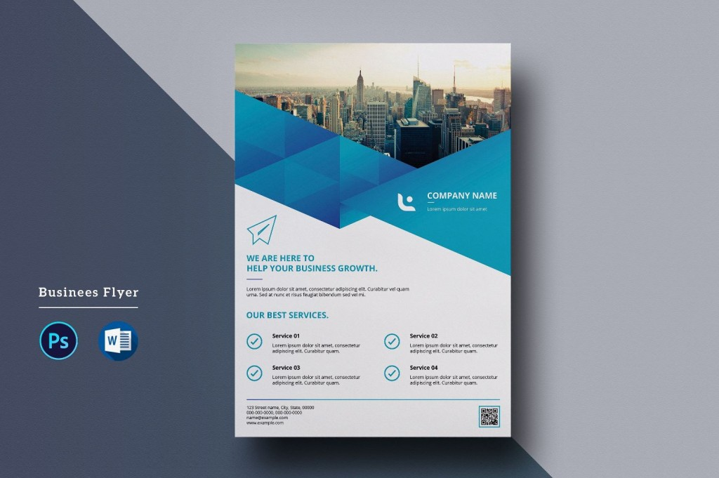 000 Shocking Free Flyer Design Template  Indesign For Word MicrosoftLarge