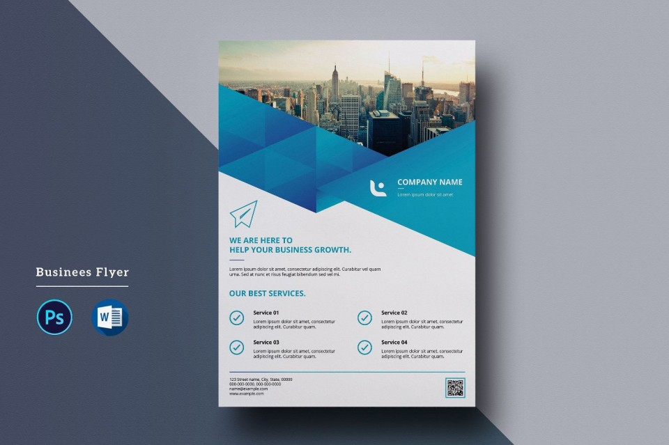 000 Shocking Free Flyer Design Template  Indesign For Word Microsoft960