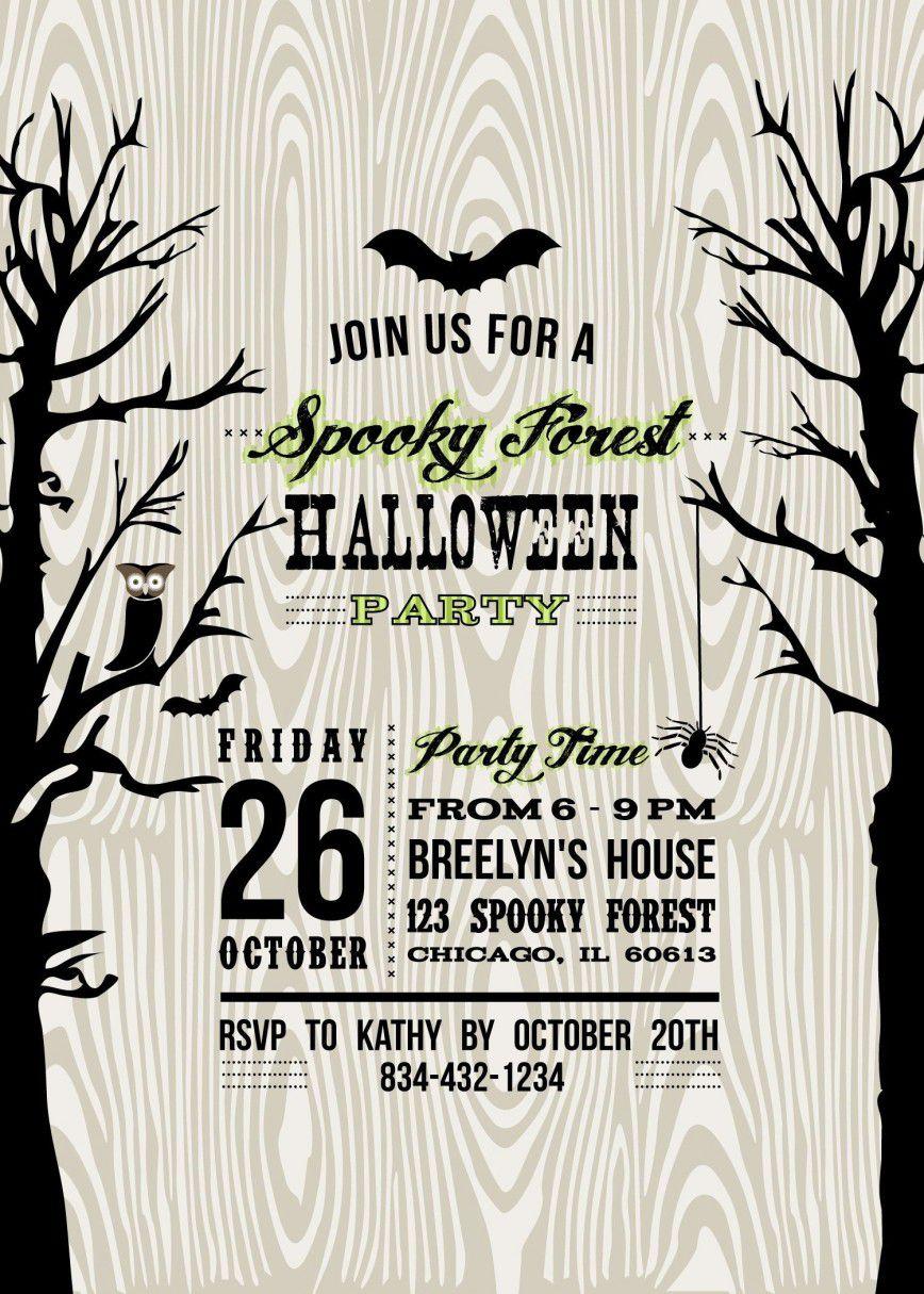 000 Shocking Free Halloween Invitation Template High Def  Templates Microsoft Word Wedding Printable PartyFull