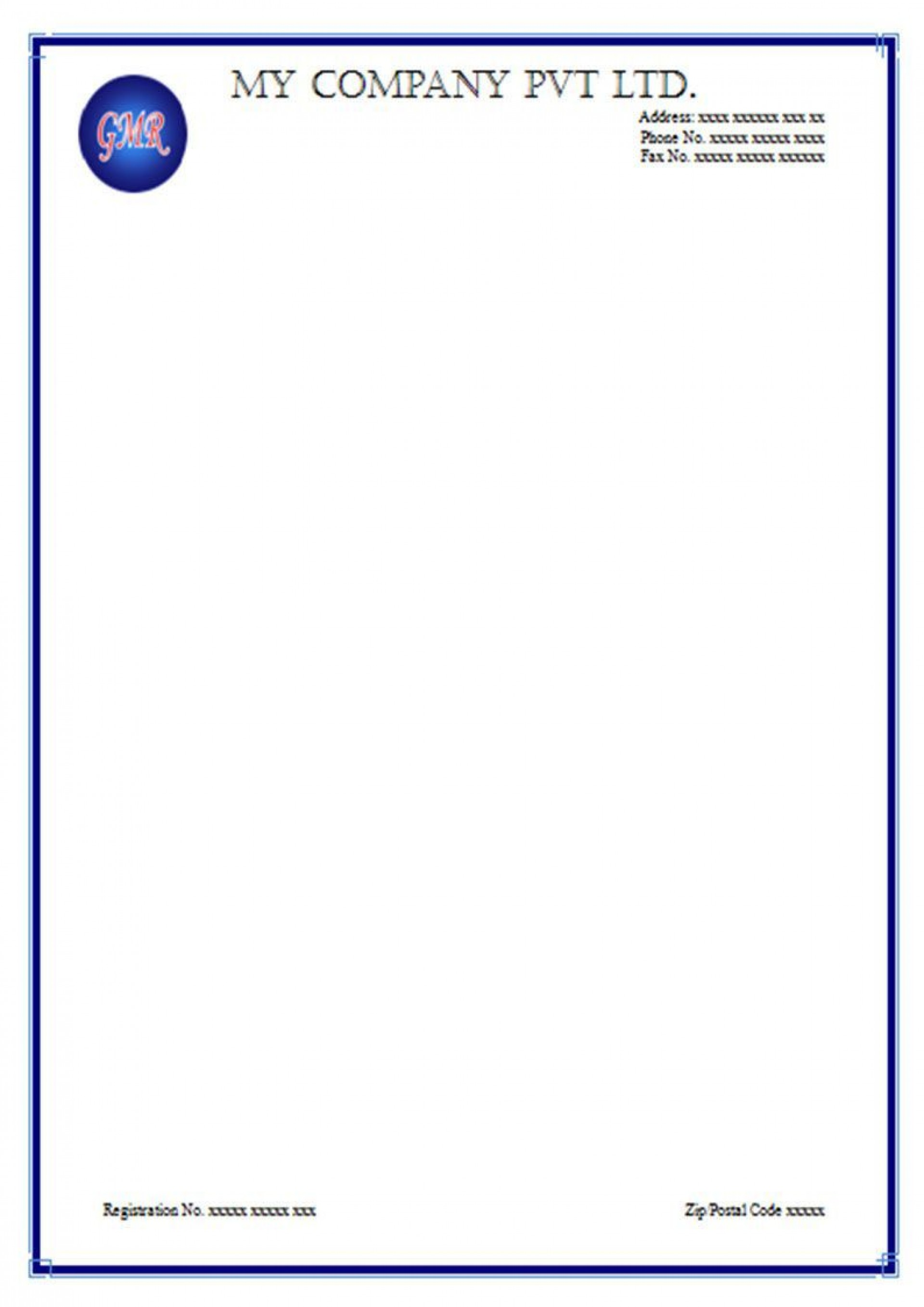 000 Shocking Free Letterhead Template Download Example  Word Psd Sample1920