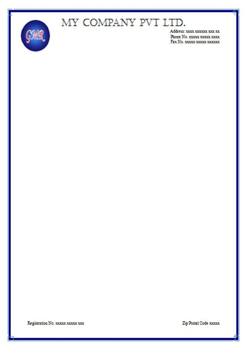 000 Shocking Free Letterhead Template Download Example  Word Psd SampleFull