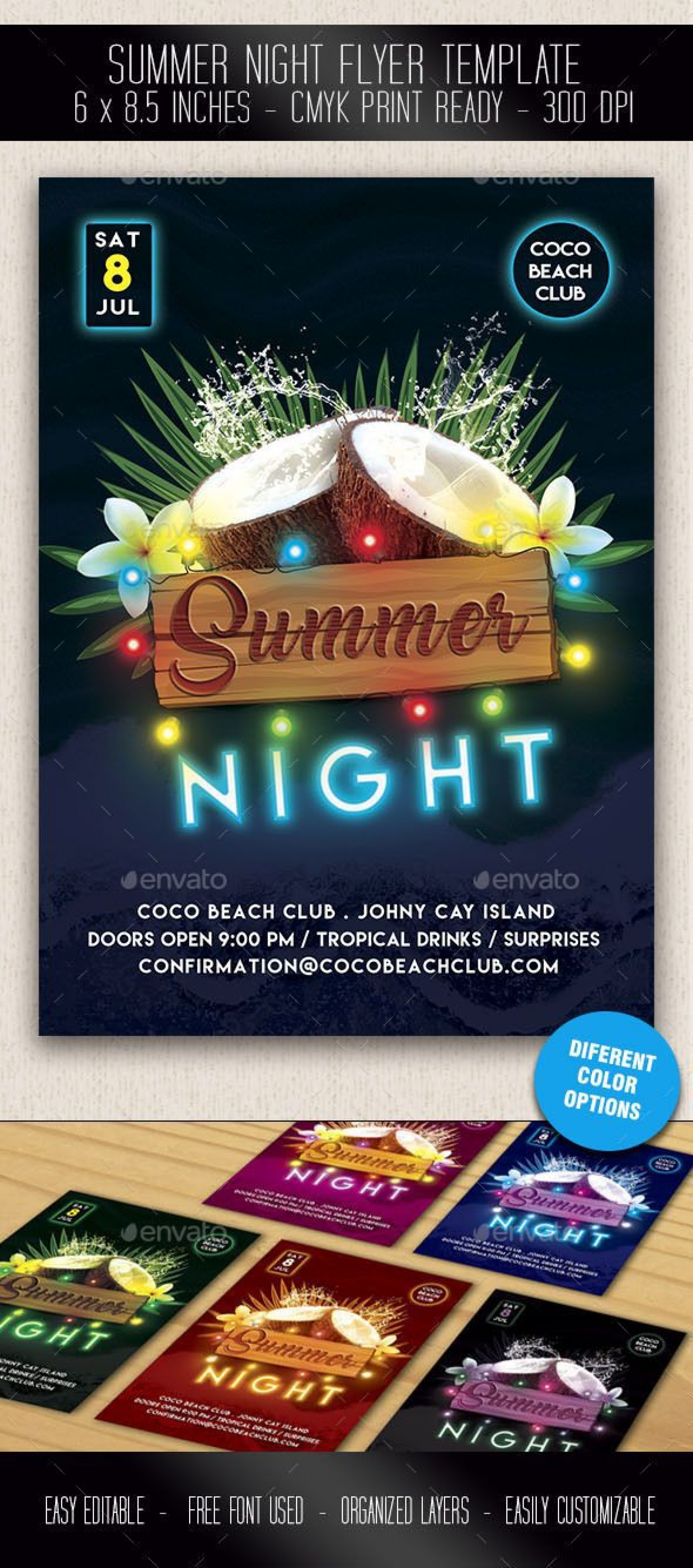 000 Shocking Free Party Flyer Template For Mac Highest Quality 1920