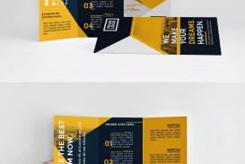 000 Shocking Indesign Trifold Brochure Template Inspiration  Tri Fold A4 Bi Free Download