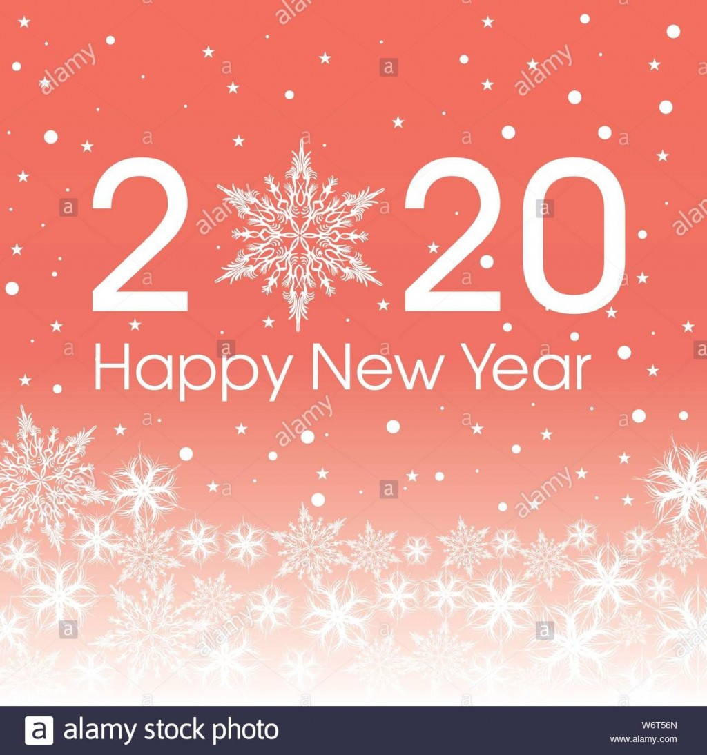 000 Shocking New Year Card Template High Definition  Happy Chinese 2020 FreeLarge