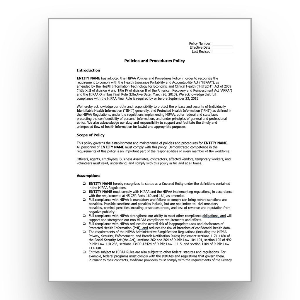 000 Shocking Policy And Procedure Template High Resolution  Free Healthcare WordLarge