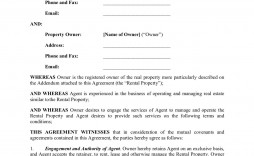 000 Shocking Rental Property Management Contract Sample Concept  Vacation Template