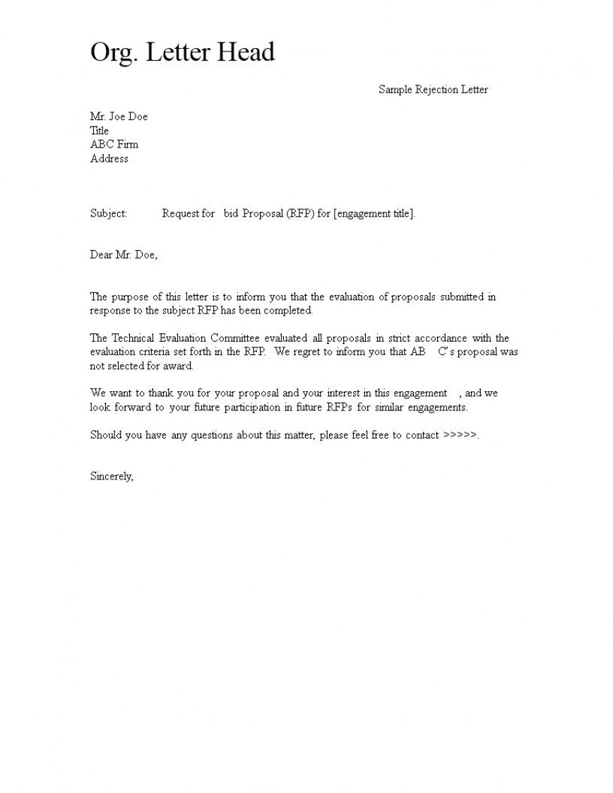 000 Shocking Request For Bid Template Example  Proposal Doc Canada Sample