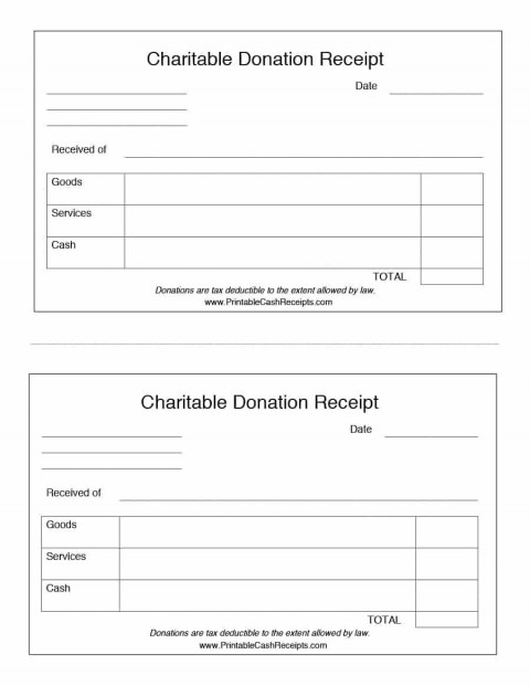 000 Shocking Tax Deductible Donation Receipt Template Australia Sample 480