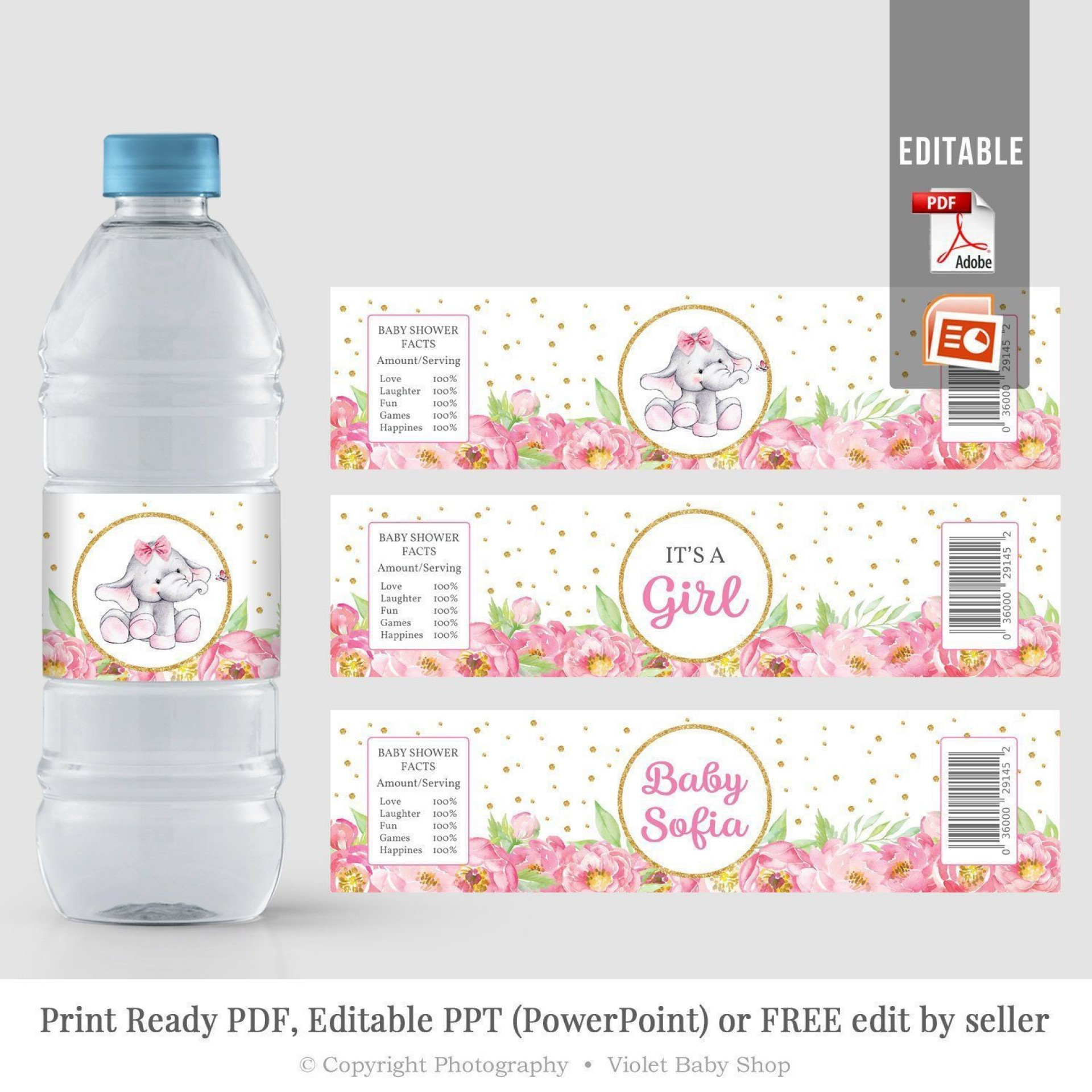 000 Shocking Water Bottle Label Template Free Picture  Word Superhero Photoshop1920