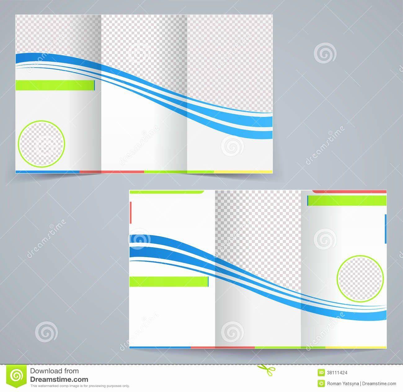 000 Shocking Word Tri Fold Brochure Template Photo  2010 Microsoft M OfficeFull