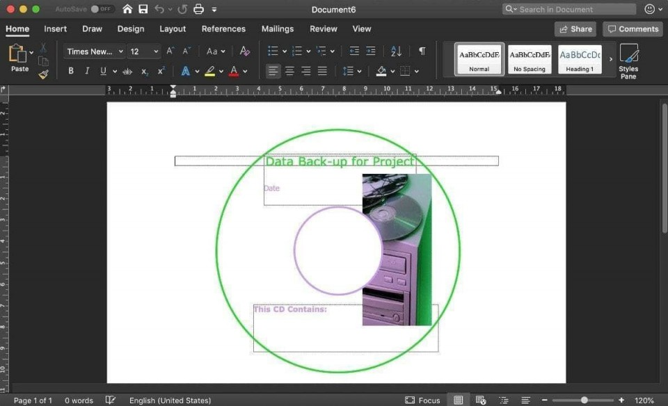 000 Simple Cd Label Template Word 2010 Photo  Microsoft960
