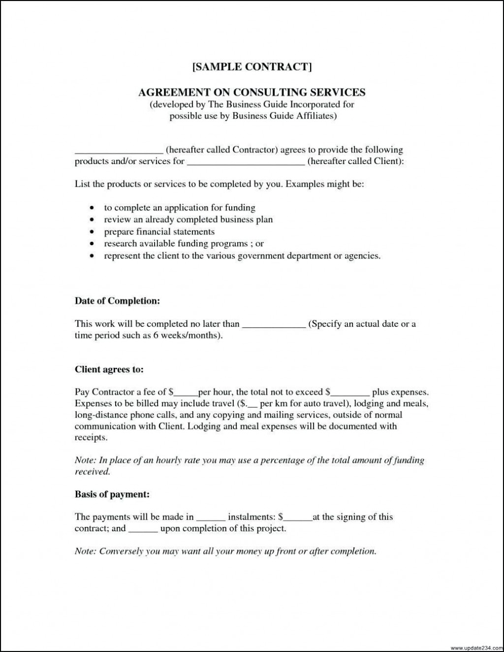000 Simple Consulting Service Agreement Template Photo  Sample With Retainer Form AustraliaLarge