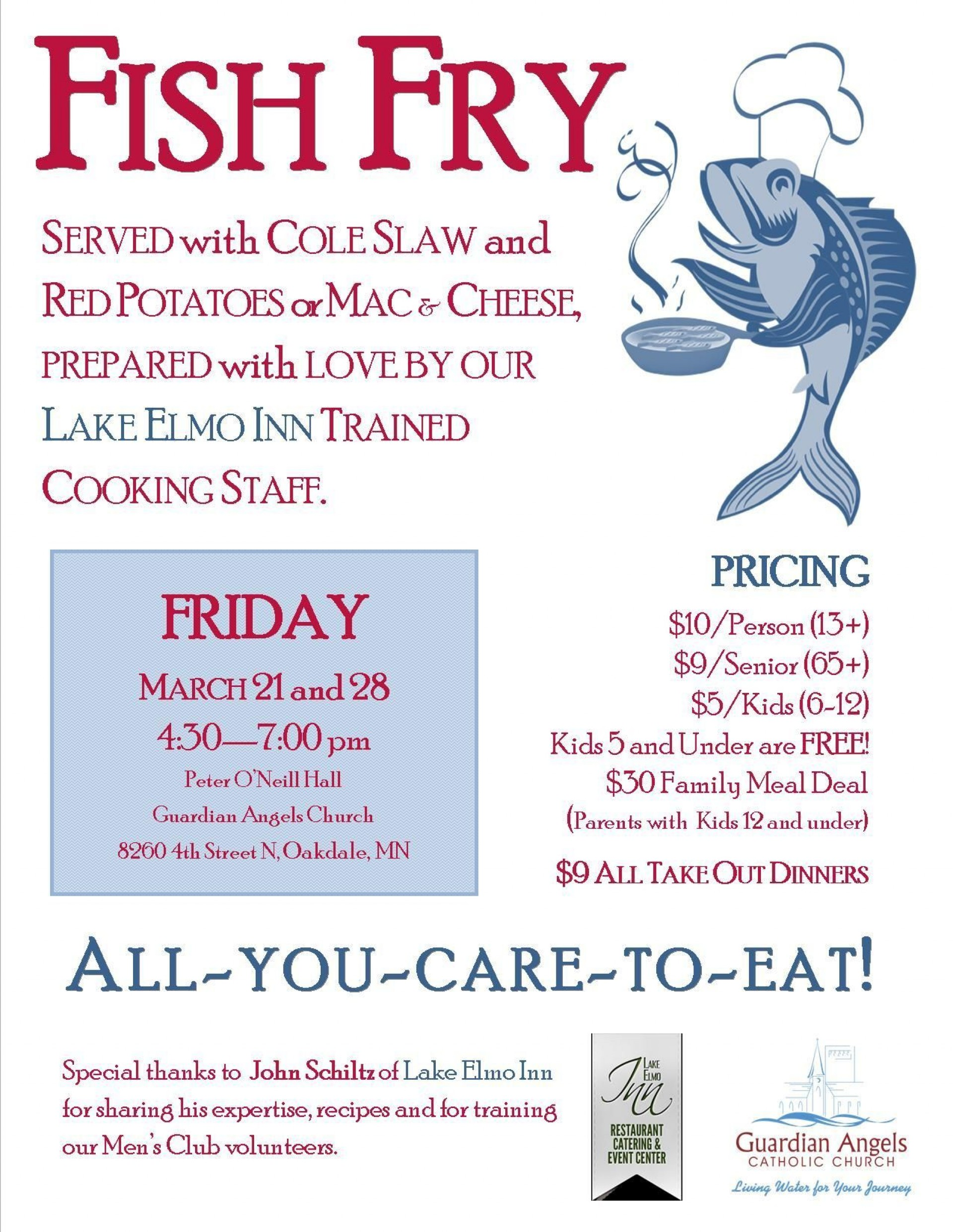 000 Simple Fish Fry Flyer Template High Def  Printable Free Powerpoint Psd1920