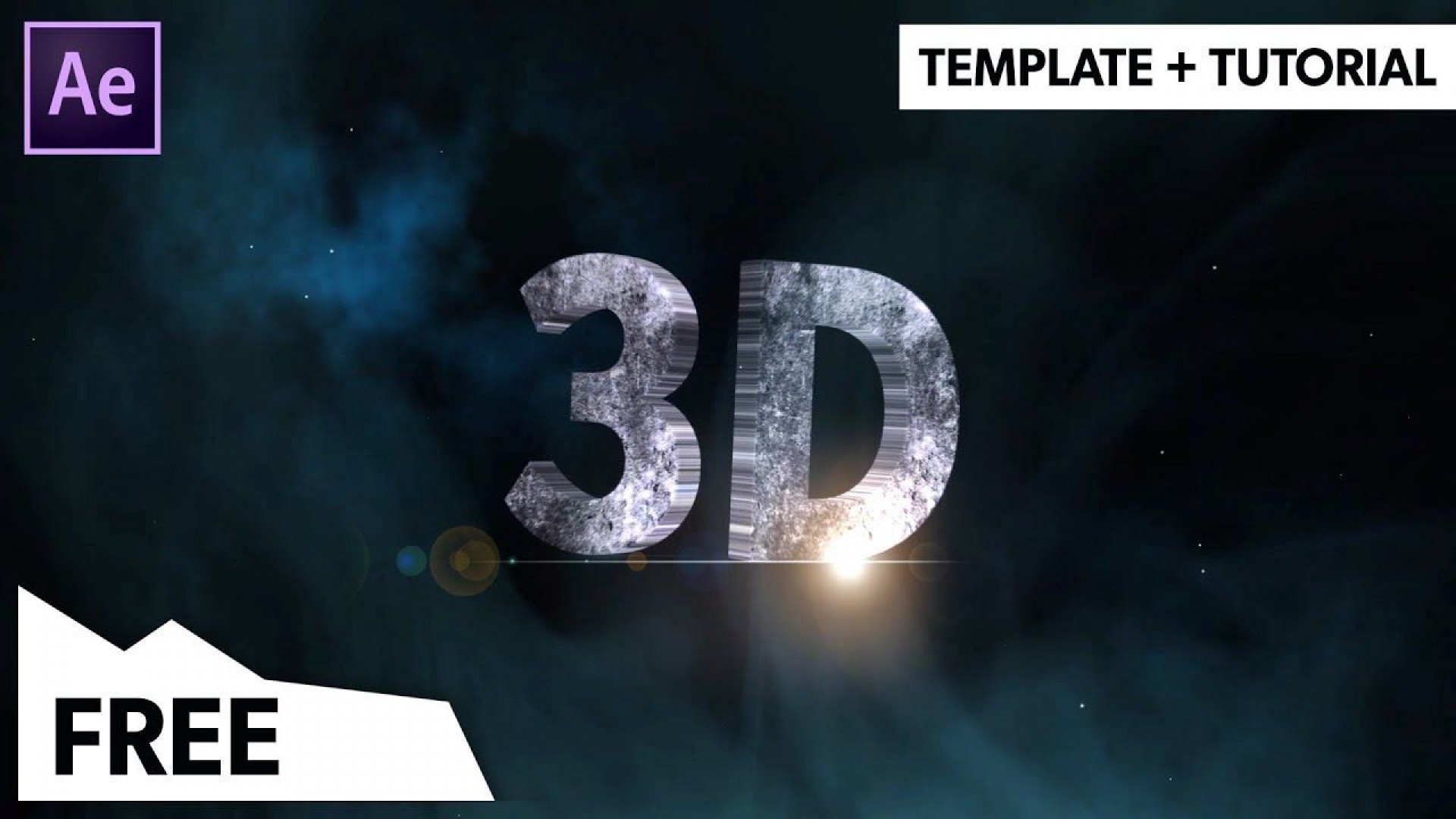 000 Simple Free After Effect Template  3d Logo Animation Inspiration - V2 Download1920
