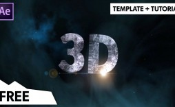 000 Simple Free After Effect Template  3d Logo Animation Inspiration - V2 Download