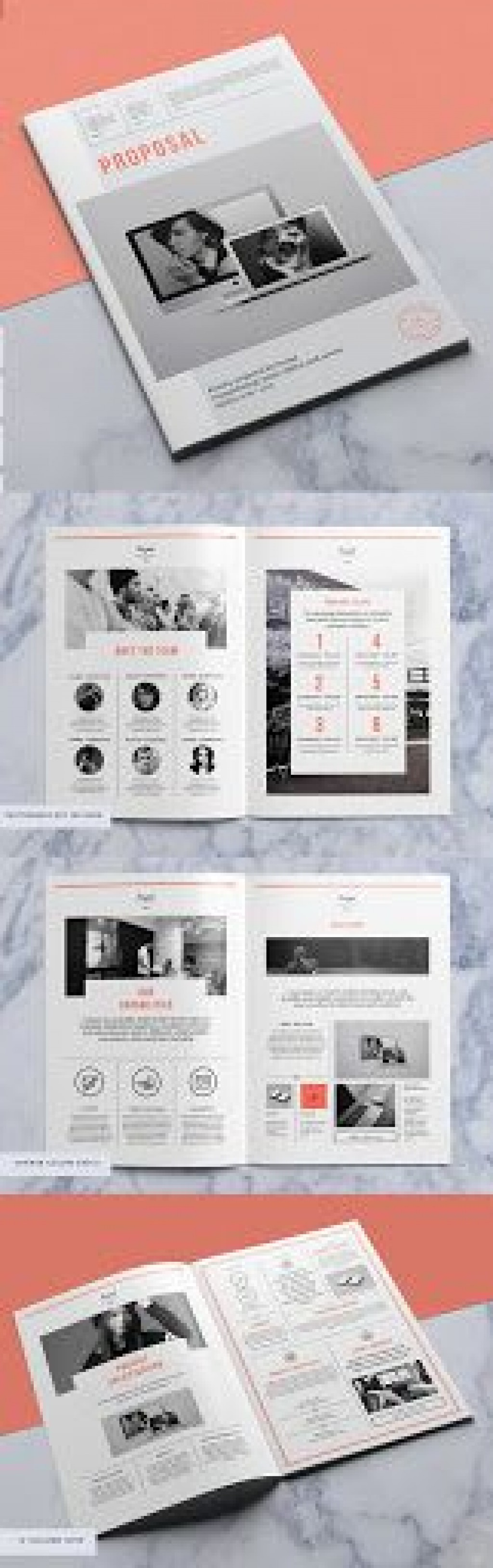 000 Simple Free Busines Proposal Template Indesign Design Large