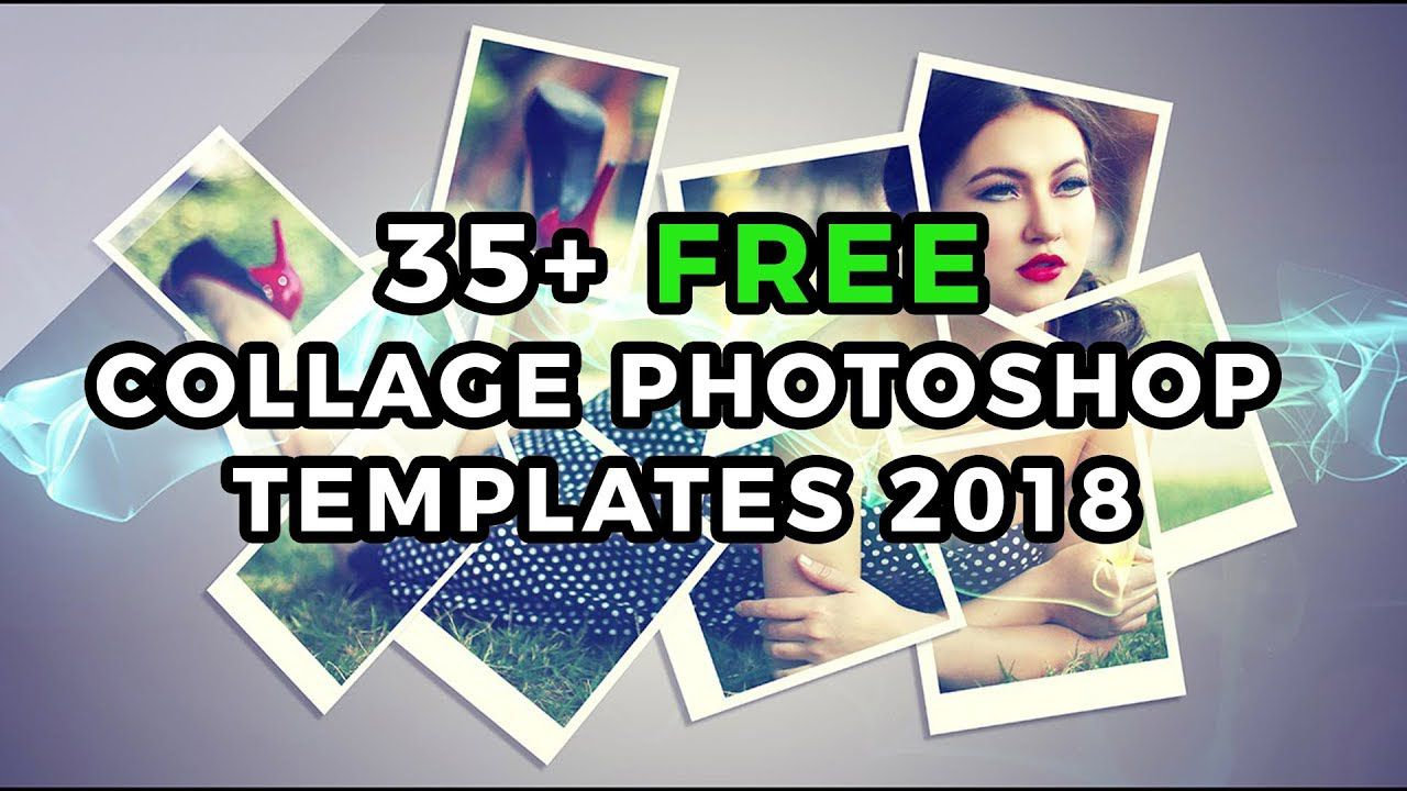000 Simple Free Photoshop Collage Template High Resolution  Templates Psd Download Photo For ElementFull