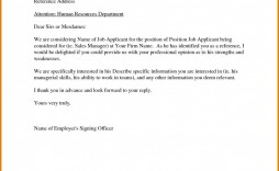 000 Simple Free Reference Letter Template For Employment High Definition  Word