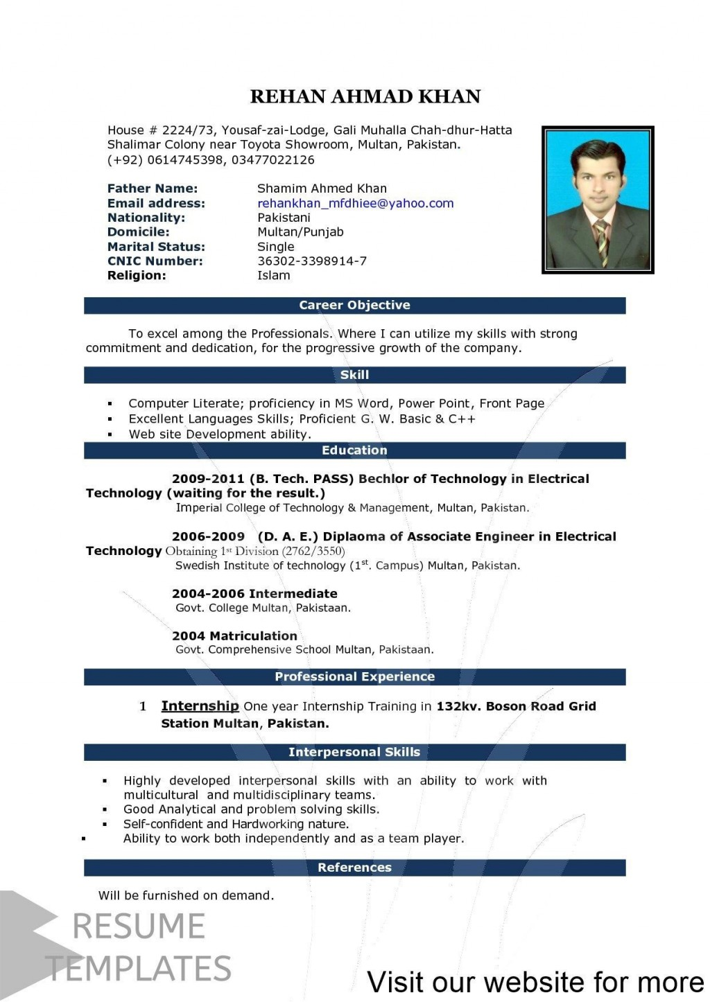 000 Simple How To Create A Resume Template In Word 2020 Inspiration Large