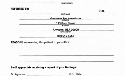000 Simple Medical Referral Form Template Sample  Dental Patient Doctor Free Physician