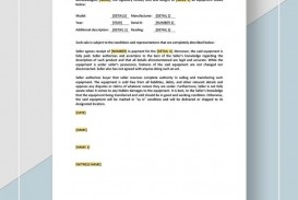 000 Simple Microsoft Word Equipment Bill Of Sale Template Highest Quality